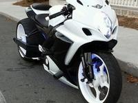 This is a 2007 gsxr 1000 turbo bike for sale the bike