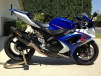 1007 Suzuki GSX-R 1000. I purchased it brand-new in
