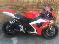 I have a 2007 Suzuki GSXR 600 that I am looking to
