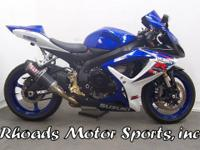 2007 Suzuki GSXR 600 with 8474 Miles This is a great
