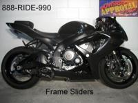 2007 Suzuki GSXR600 crotch rocket for sale loaded with