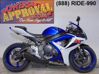 2007 Suzuki GSXR600 Crotch Rocket for sale $5,999!