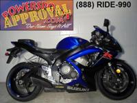 2007 Suzuki GSXR600 Crotch Rocket for sale only $5,900!