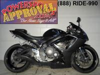 2007 Suzuki GSXR600 Crotch Rocket for sale only