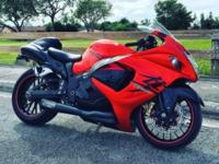 Up for sale is one of the fastest Hayabusa's around. I
