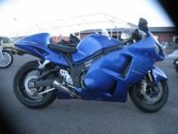 2007 Suzuki Hayabusa GSX1300R. This 2007 bike was