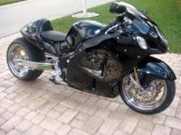 This Hayabusa is a one owner bike never,wrecked or