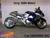 2007 Suzuki Hayabusa GSXR1300 Sport Bike For
