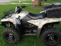 2007 Suzuki KingQuad 450 The 2007 Suzuki KingQuad 450