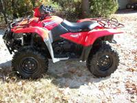 2007 SUZUKI KINGQUAD 700 4X4 WITH DIFFERENTIAL LOCK,