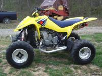 I HAVE A 2007 SUZUKI LTZ400 WITH LOW MILES, 30 HOURS