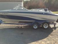 This is a 2007 Tahoe Q6 sport the boat has Keel guard,