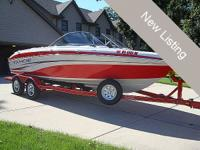 This 2007 Tahoe Q6 Ski/Fish is like brand-new and just