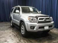One Owner 4x4 Budget SUV with Leather Seats!  Options: