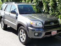Galactic Gray Mica 2007 Toyota 4Runner Limited V6 4WD