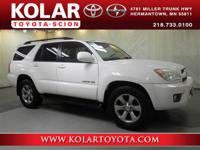 2007 4Runner Limited, 4WD, Taupe w/Leather Seat Trim,