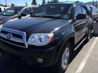 Come see this 2007 Toyota 4Runner SR5. Its Automatic
