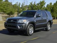 Flatirons Imports is offering this 2007 Toyota 4Runner