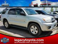 CARFAX One-Owner. Clean CARFAX. LOCAL TRADE-IN, 4Runner