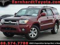 We are happy to offer you this 2007 Toyota 4Runner