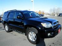 4 Wheel Drive*** This Black Toyota CERTIFIED... 2007