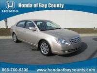 Honda of Bay County presents this 2007 TOYOTA AVALON