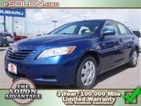 2007 Toyota Camry 4 Door Sedan CE Our Location is: Dave
