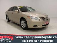 Grab a bargain on this 2007 Toyota Camry CE before
