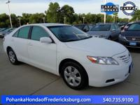 This 2007 Camry is a one owner vehicle and has been
