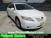 Options Included: N/A2007 Toyota Carmy LE Sedan, white