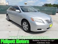 Options Included: N/A2007 Toyota Camry LE, silver with