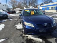 This 2007 Toyota Camry comes as a midsize four-door