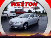 In this 2007 Toyota Camry , enjoy every drive with