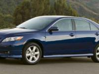 2007 Toyota Camry CARFAX One-Owner. Camry LE, 2.4L I4