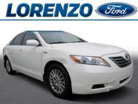 Options:  2007 Toyota Camry Hybrid|White/|V4 2.4L
