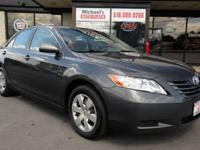2007 Toyota Camry LE 4dr Sedan - WE FINANCE - STK#9384