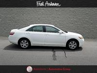 White 2007 Toyota Camry LE FWD 5-Speed Automatic with