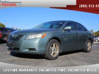 2007 Toyota Camry LE, *** FLORIDA OWNED VEHICLE ***