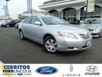 Clean Carfax!! Camry LE, 4D Sedan, and 5-Speed