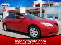 CARFAX One-Owner. Camry LE, 3.5L V6 SMPI DOHC, Cloth.