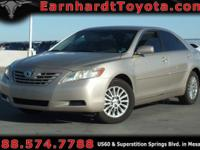 We are happy to offer you this 2007 Toyota Camry LE