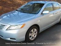 With Full Warranty 2007 TOYOTA CAMRY NEW GENER CE BLUE