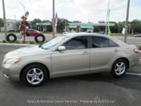 With Full Warranty 2007 TOYOTA CAMRY NEW GENER CE GOLD