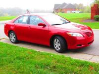 VERY CLEAN 2 OWNER 2007 TOYOTA CAMRY LE SEDAN, CLOTH