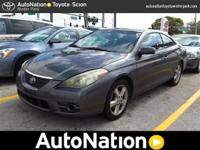 This 2007 Toyota Camry Solara is AN Certified which is