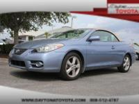 2007 Toyota Camry Solara SLE V6 Convertible, *** CLEAN