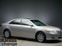 Heated leather and a moonroof!!Silver 2007 Toyota Camry