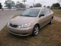 2007 Toyota Corolla 4dr Car CE Our Location is: Sunny