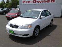 2007 Toyota Corolla 4dr Car LE Our Location is: Toyota