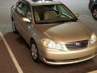 Clean CARFAX. 2007 Toyota Corolla FWD 5-Speed Manual